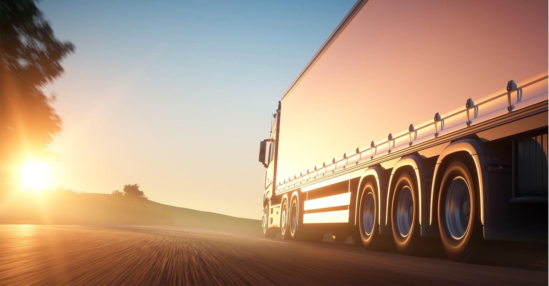 Tranzia -transport camioane proprii